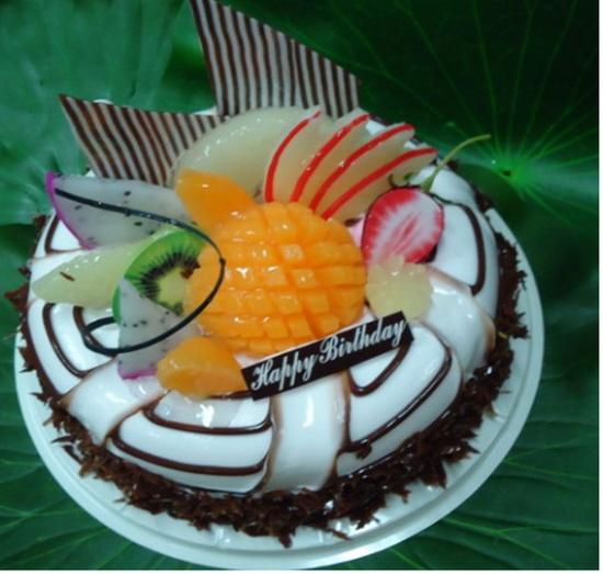 Beautiful Fruit Cake Images : Beautiful Fruit and Chocolate Cake M1MD05_Beautiful Fruit ...